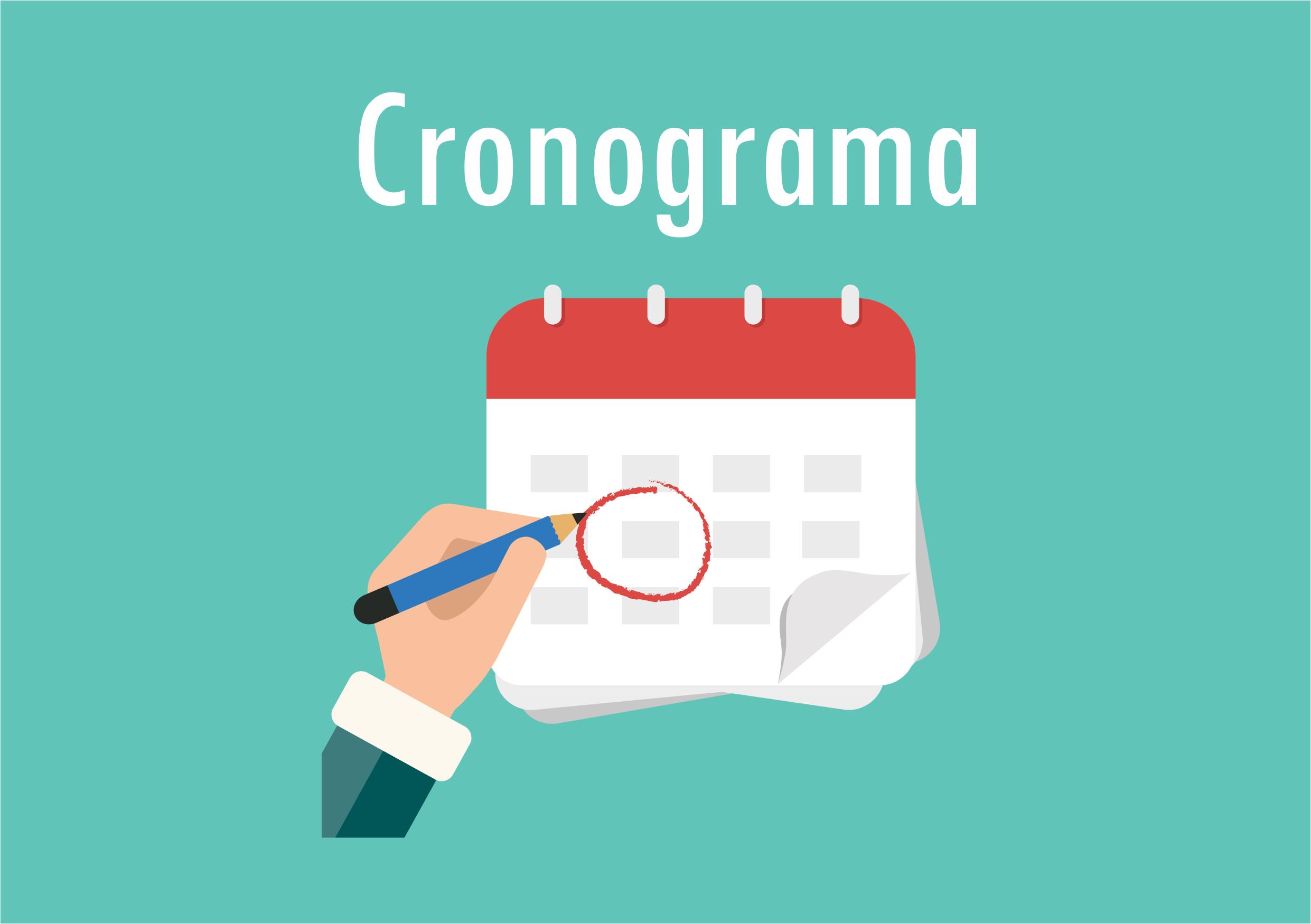 Link permanente para: Cronograma de abertura de agendas