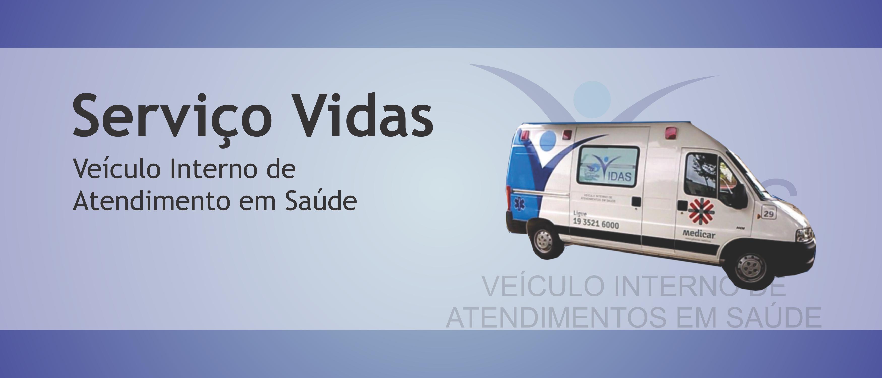Link permanente para: Serviço VIDAS – Veículo Interno de Atendimento em Saúde