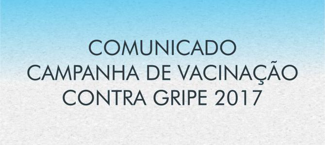 Campanha de Vacinação contra Gripe | 2017