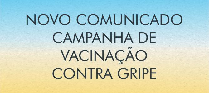 [NOVO] Informativo sobre Campanha de  Vacinação contra Gripe