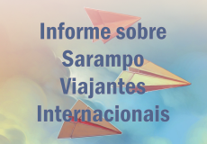 Informações sobre Sarampo para viajantes internacionais