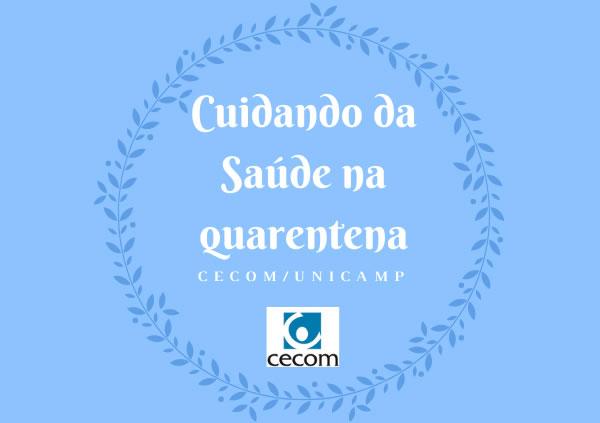 Link permanente para: CUIDANDO DA SAÚDE NA QUARENTENA