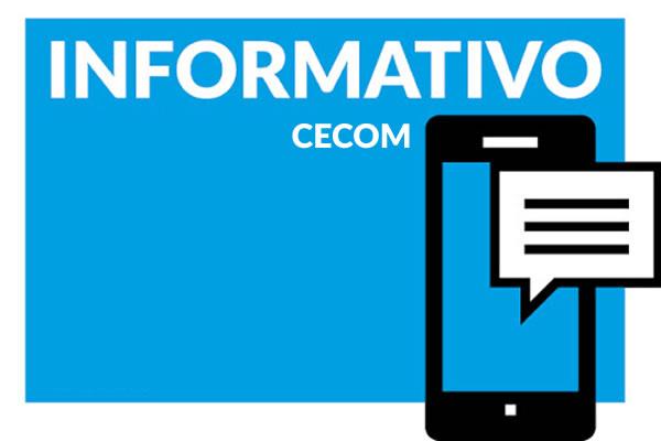 Link permanente para: Abertura das agendas e atividades CECOM na pandemia